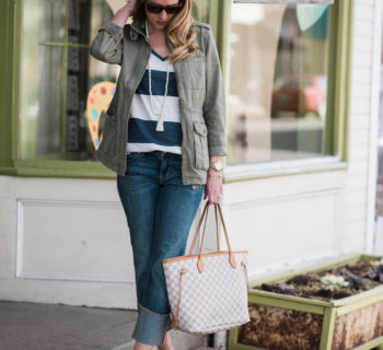 Perspective: Spring Stripes