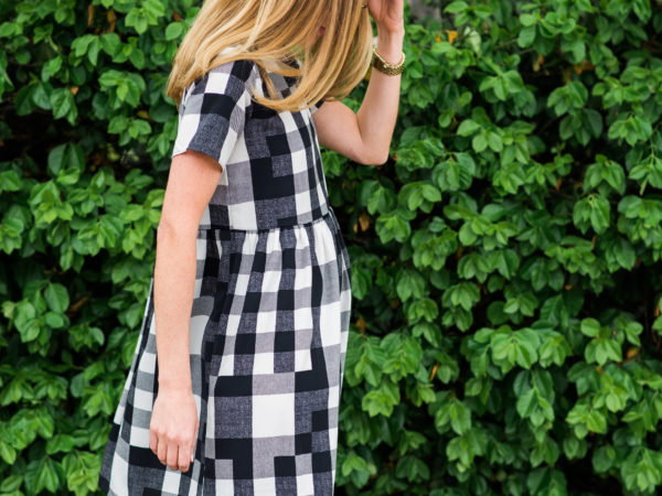 Confessions: Gingham Plaid Dress