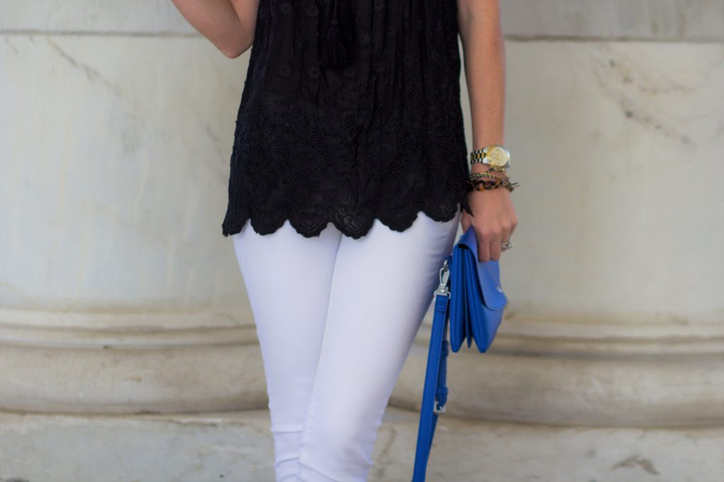 Scalloped Hem Tank