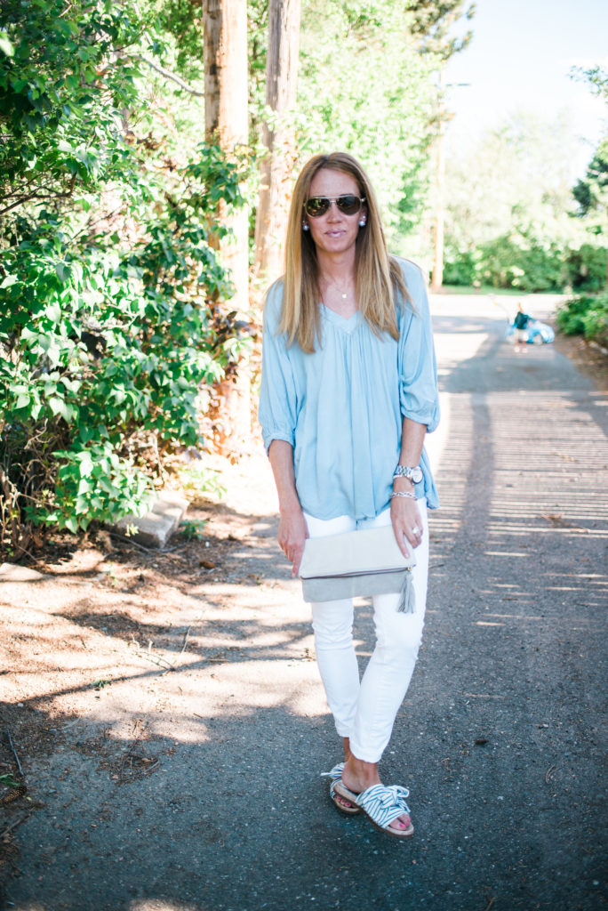 Free People + White Denim