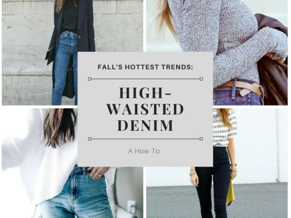 High-Waisted Denim: 5 Tips on How To